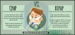 Diferencias entre CPAP e BIPAP
