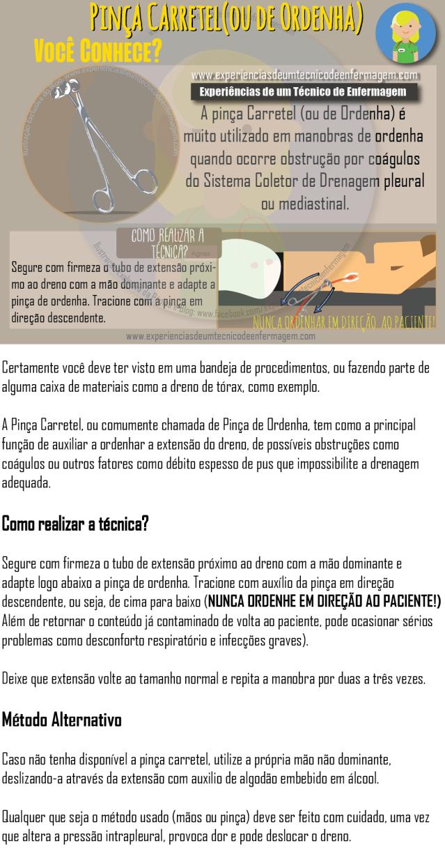 Pinça Carretel