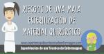 Riesgos de una mala esterilización de material quirúrgico