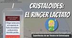 Cristaloides: El Ringer Lactato