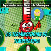 A Temperatura Corporal e suas Terminologias