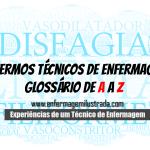 Glossário de Terminologias e Termos Técnicos na Enfermagem