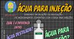 Água para Injeção, Destilada, Bi-destilada: É tudo a mesma coisa?