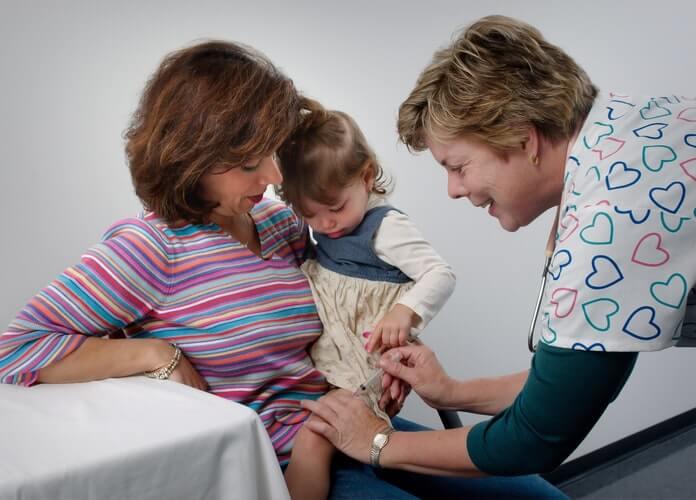 via intramuscular em criança