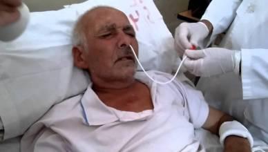 controlar sonda nasogastrica en estomago