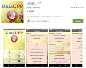 guia upp app