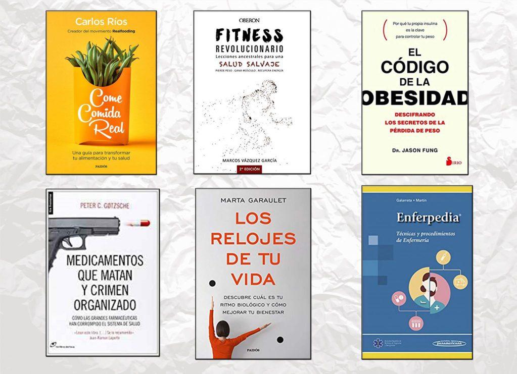 los mejores libros sobre salud enfermeria estilo de vida nutricion