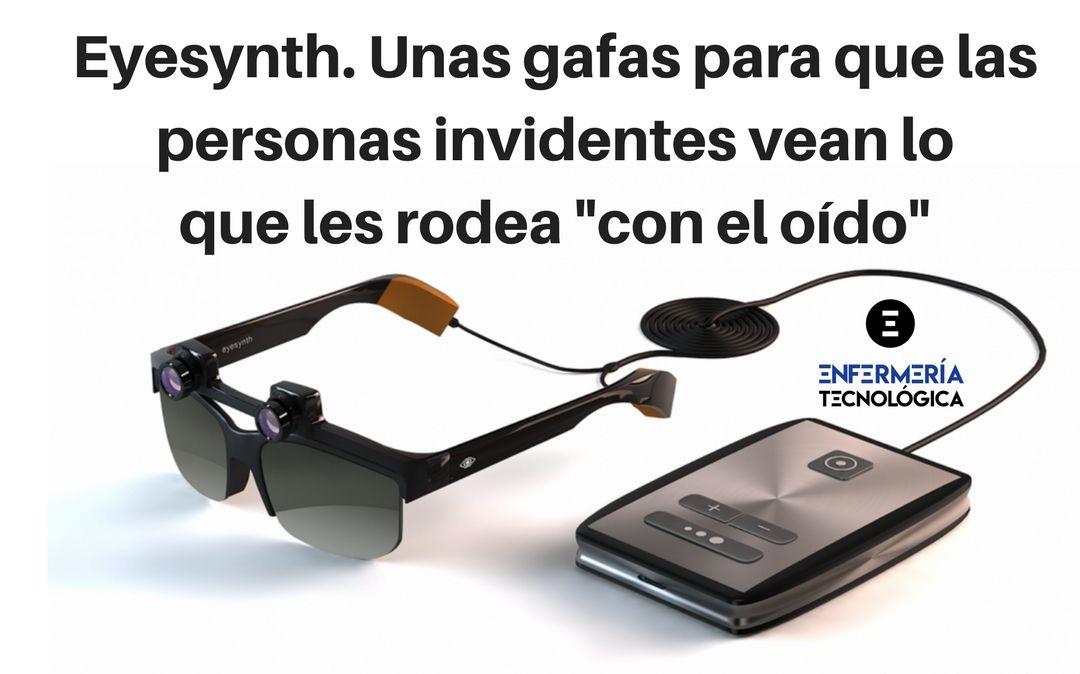 """Eyesynth. Unas gafas para que personas invidentes vean lo que les rodea """"con el oído"""""""