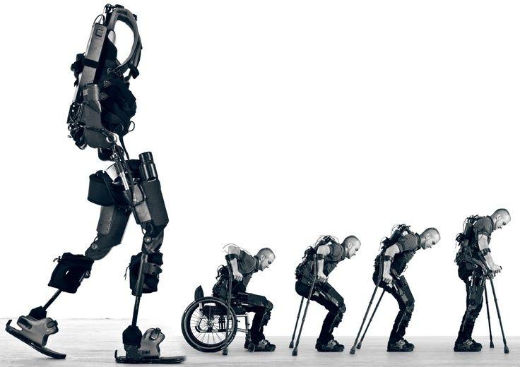 Exoesqueletos. Volver a andar tras una paraplejia.