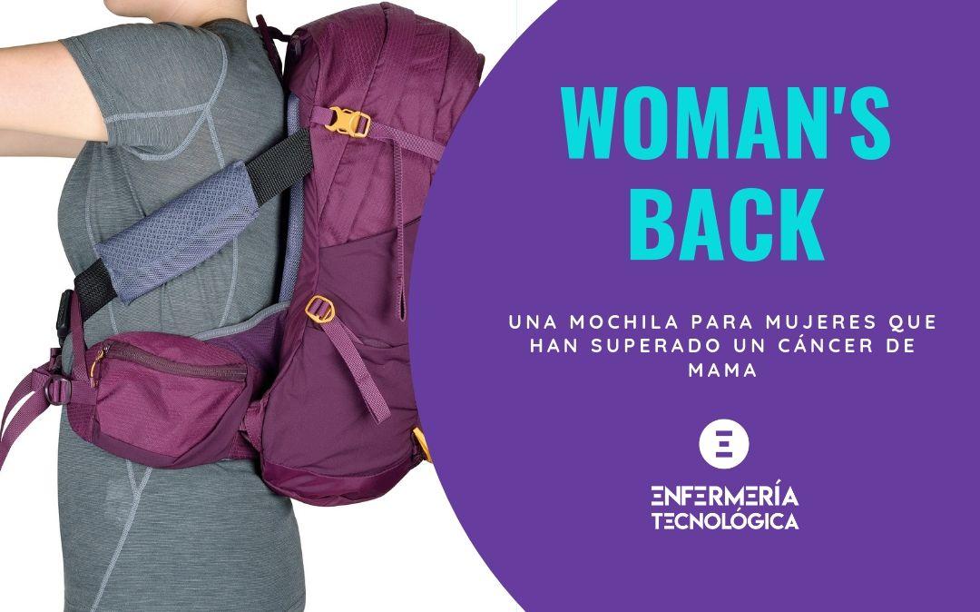 Woman'sBack ®. Una mochila para mujeres que han superado un cáncer de mama