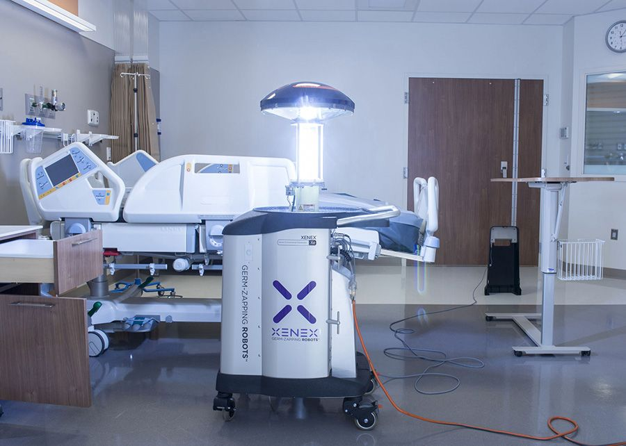 Un robot contra las infecciones nosocomiales.