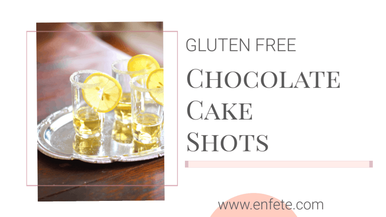 chocolate cake shots