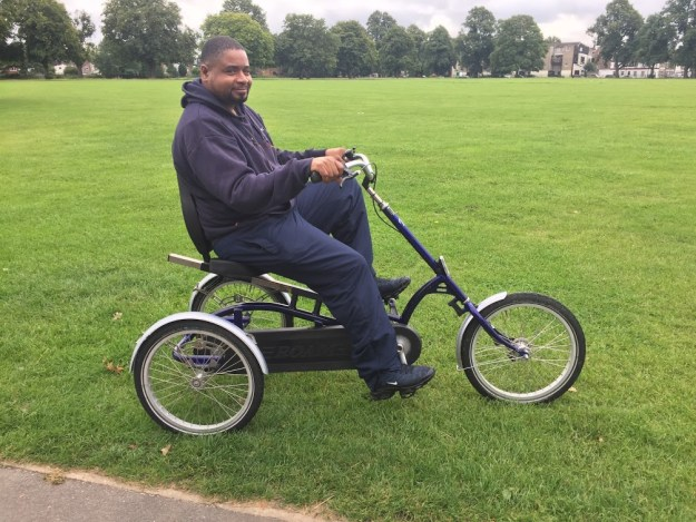 Trike from Bush Hill Park