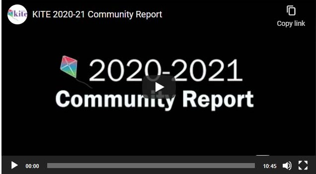KITE Debut's 2020-21 Community Report Video