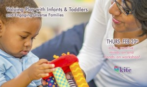 PD: Valuing Play with Infants and Toddlers Workshop for Early Care Providers @ Stowe Early Learning Center PLAY Lab