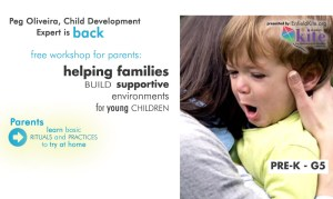 Parent Workshop Helping Families Build Supportive Environments @ Henry Barnard