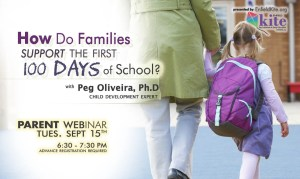 Parent Webinar: How Do Families Support the 1st 100 Days of School @ online