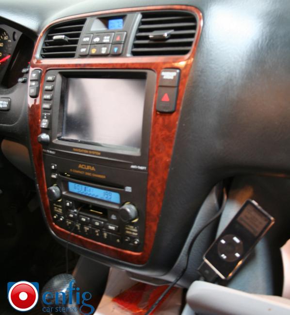 2003 Acura MDX With Navigation BlitzSafe IPod Interface