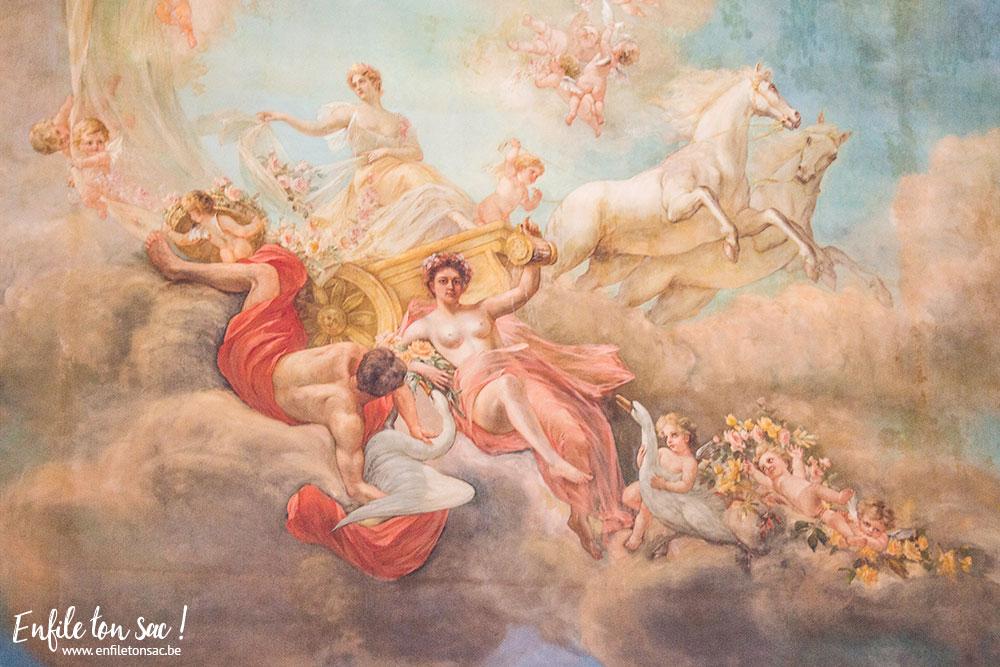 peinture palais royal Visite du palais royal de Bruxelles   update dates 2016