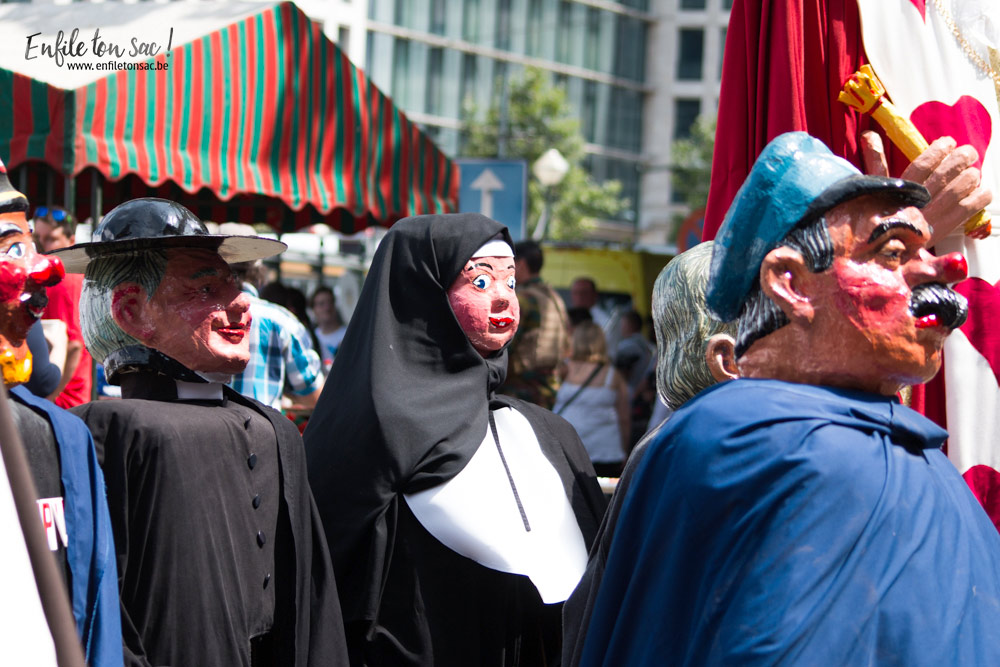 fete nationale belgique geant 1 Fête nationale 2016, un 21 juillet à Bruxelles