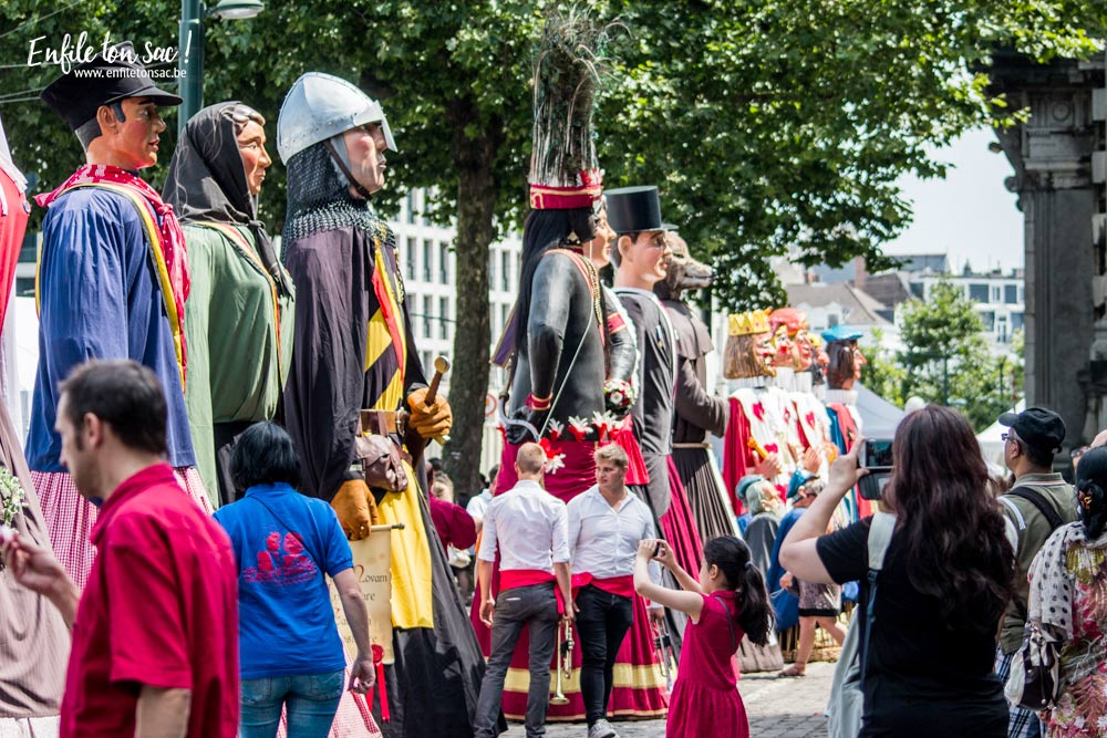 fete nationale geants bruxelles 1 Fête nationale 2016, un 21 juillet à Bruxelles