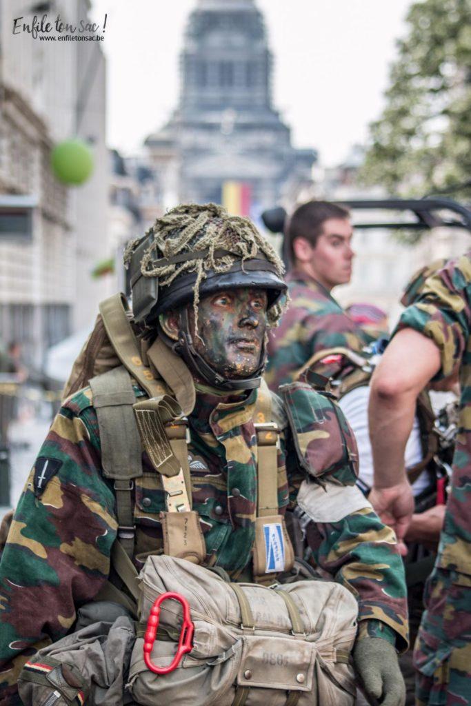 fete nationale militaires 683x1024 Fête nationale 2016, un 21 juillet à Bruxelles