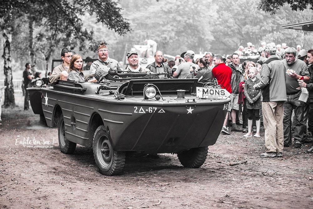 Tank in town Mons Tanks in town, le grand rassemblement de blindés et véhicules de collections de la 2eme guerre mondiale.