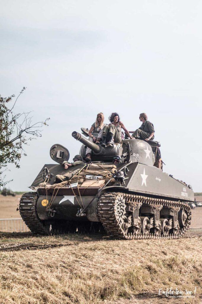 Tank in town reconstitution 683x1024 Tanks in town, le grand rassemblement de blindés et véhicules de collections de la 2eme guerre mondiale.