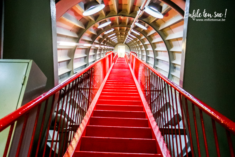 atomium escaliers Redécouvrir ou découvrir l Atomium de Bruxelles