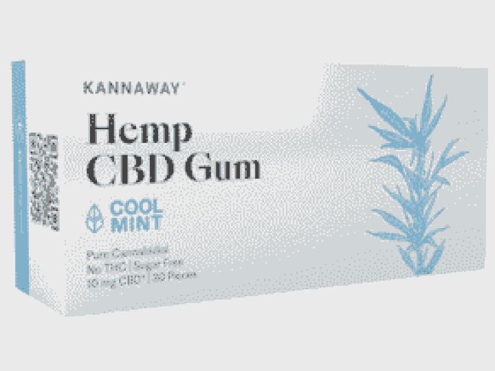 Chewing gum CBD cannabidiol