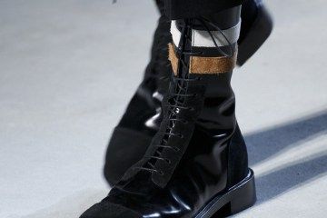 designer shoes by Raf Simons