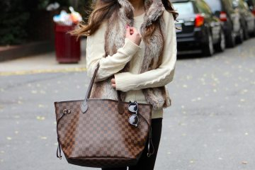 How not to style a Vuitton bag
