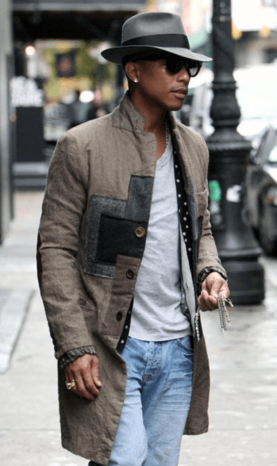 3 fashion faux-pas for men in their thirties - Pharrell Williams