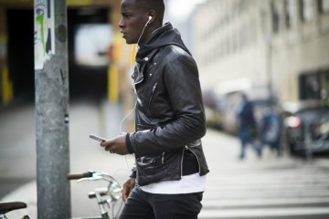 Black leather jackets: where to look & find them