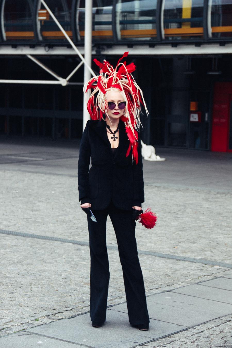 Fashion Week Street Pompedu Vetements