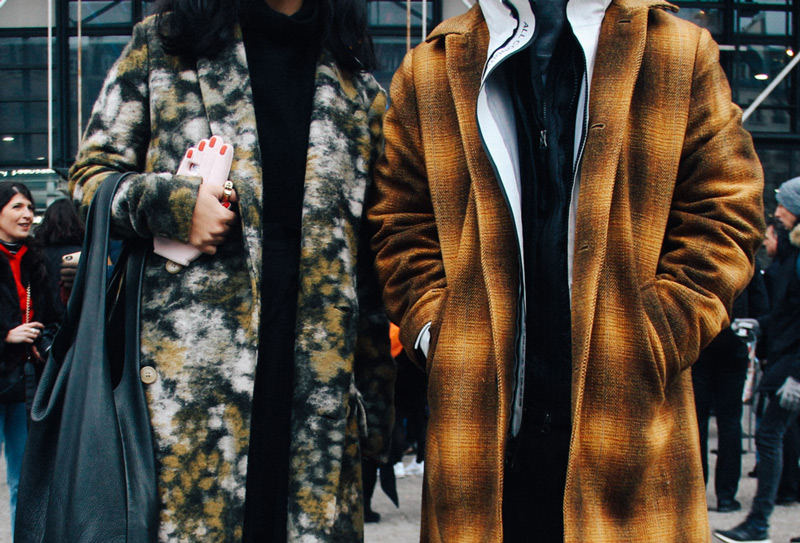 LOOK XX: Winterized couple goals at Centre Pompidou | Paris street style Fall Winter 2017