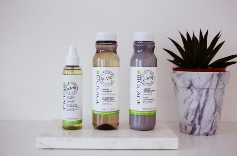 Biolage RAW natural hair products