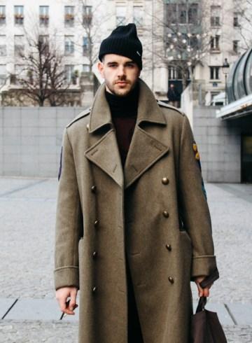 LOOK XXII: Army coat ( paris street style )