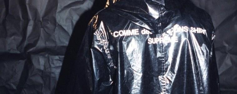 Happening now: Commes Des Garçons x Supreme