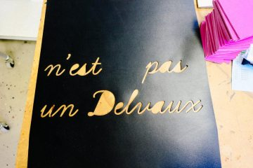 Ateliers Delvaux behind the scenes