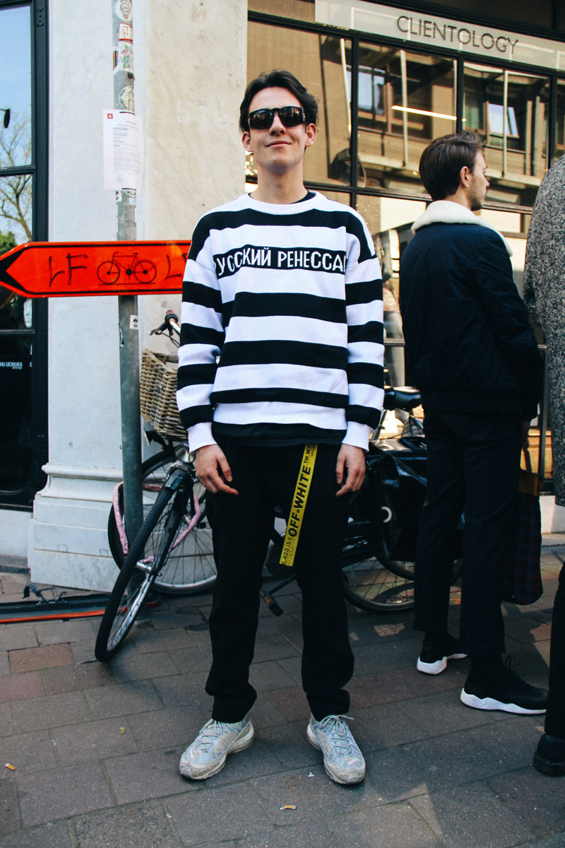 LOOK XXXIV: Gosha Rubchinskiy on casual days - Photo by Enfnts Terribles