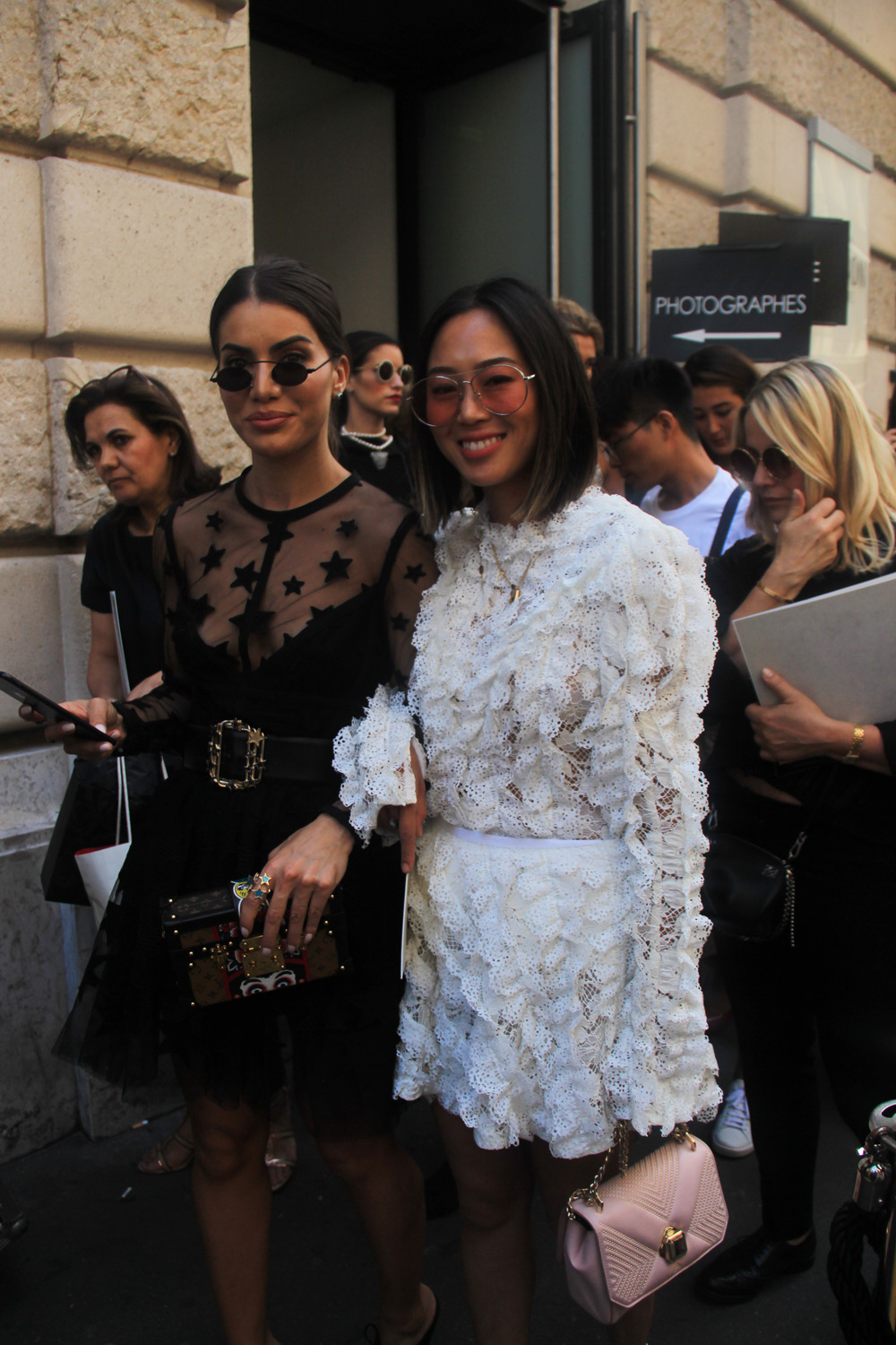 Couture Week: The Best Street Style Looks at Elie Saab