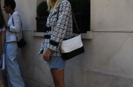 LOOK XLI: Linda Tol in Chanel - Paris Street Style by Enfnts Terribles