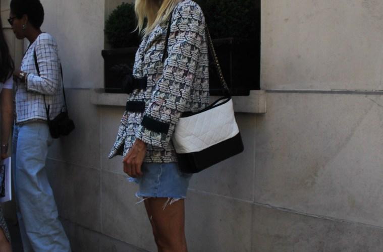 LOOK XLI: Linda Tol in Chanel - Paris Street Style by Enfnts Terribles