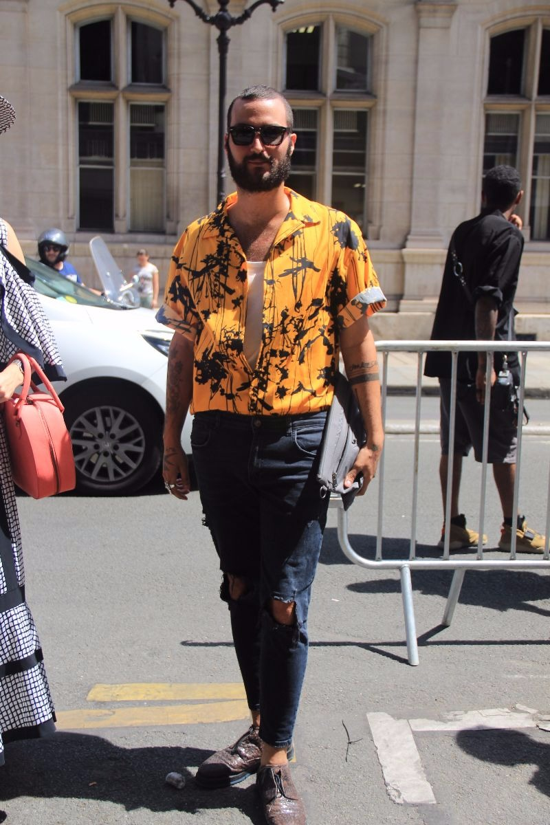LOOK XLIX: Shlomi Baresse in Paris - Enfnts Terribles