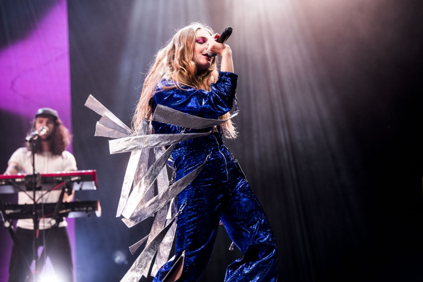 Maggie Rogers at Rock Werchter festival
