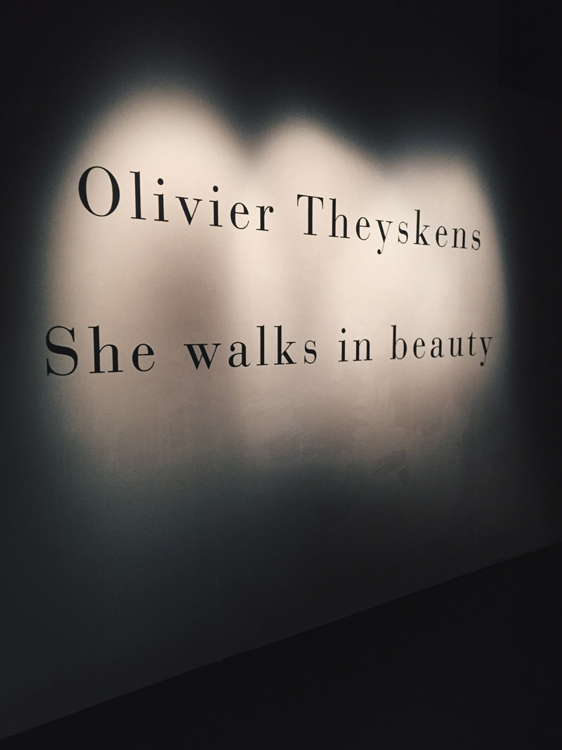 'She Walks in Beauty' exhibition by Olivier Theyskens - ENFNTS TERRIBLES