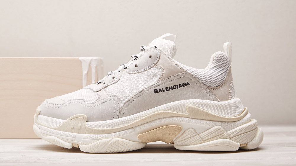 Here's Another Way To Order The Creamy White Balenciaga Triple S Sneakers ?