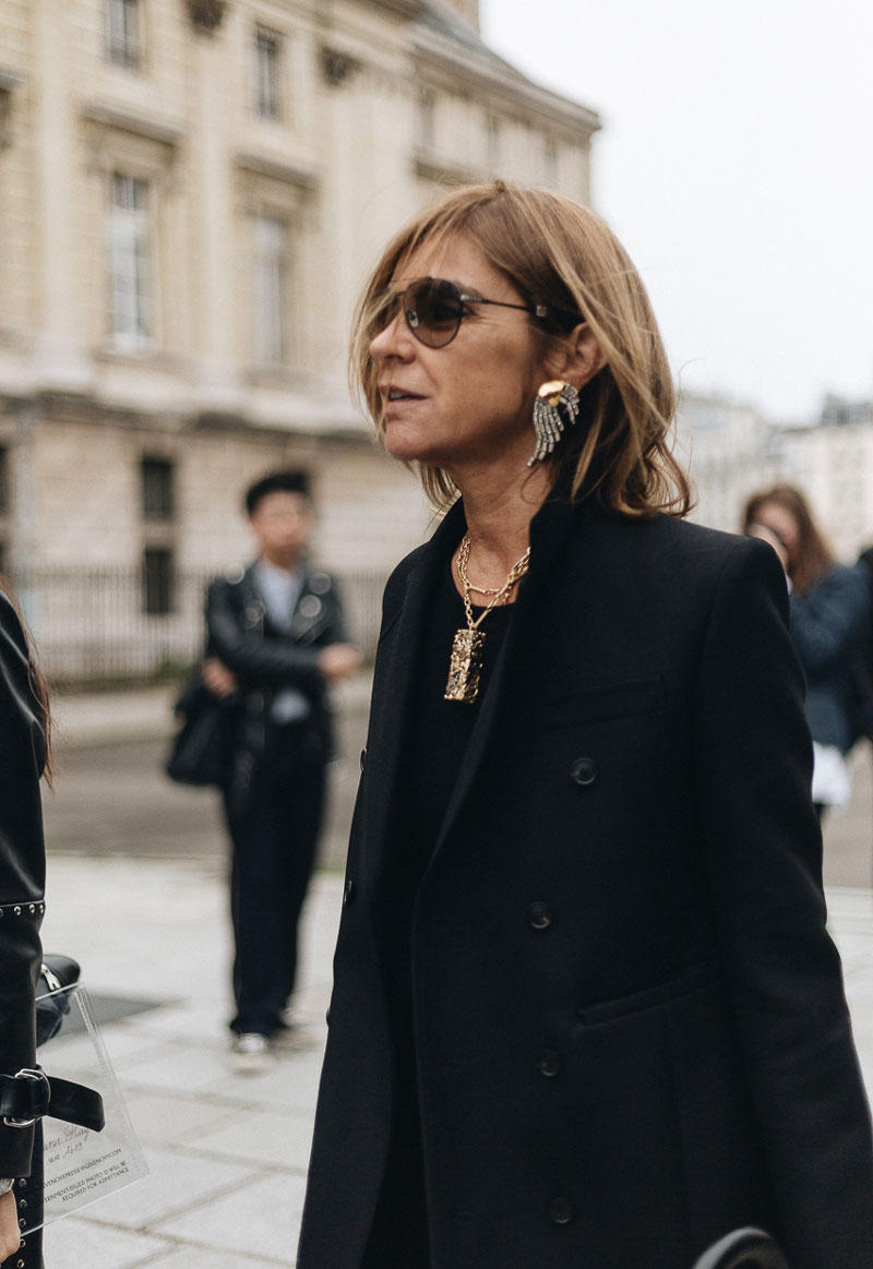 Paris Street Style from Fashion Week SS18 Ready-To-Wear