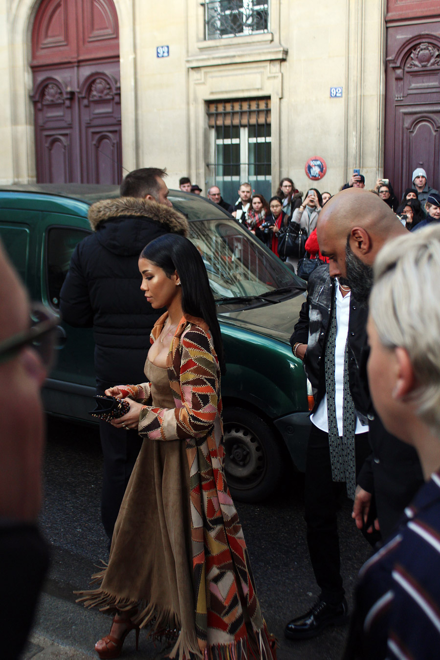 Jhene Aiko at Paris Couture Week